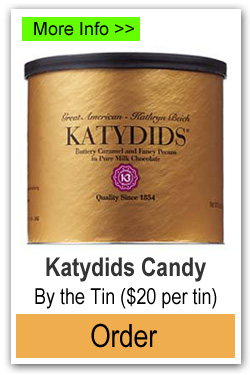 Order Katydid Candy by the Tin