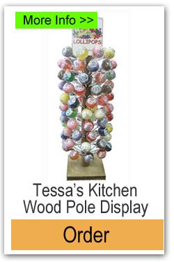Order Tessas Kitchen Wood Pole Display Stand