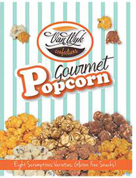 Popcorn Order-Taker Fundraising Brochures