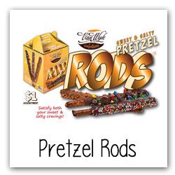 Pretzel Rods for Fundraising