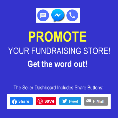 Promote Your Fundraising Store!