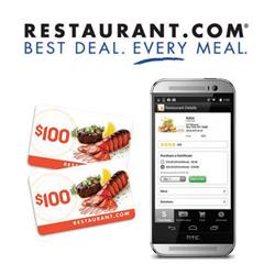 100 Dollar Restaurant Card