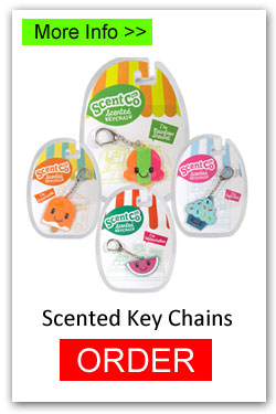Order Scented Key Chains