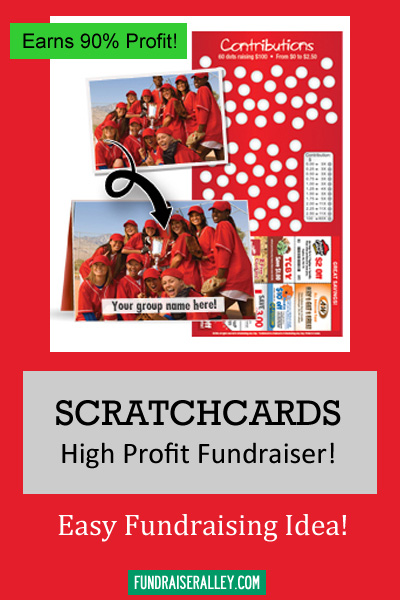 Scratchcards for Fundraising - High Profit Fundraiser