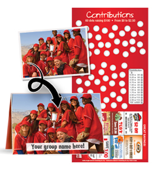 Scratchcards for Fundraising