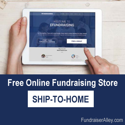 Free Online Fundraising Store - Ship to Home