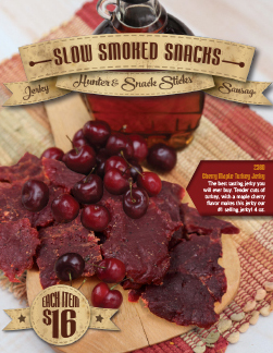 Slow Cooked Snacks Order-Taker Fundraiser