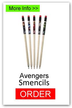 Avengers Smencils for Fundraising