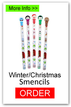 Christmas/Winter Smencils for Fundraising