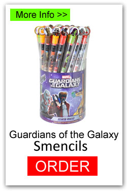 Guardian of the Galaxy Smencils for Fundraising