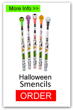 Halloween Smencils for Fundraising