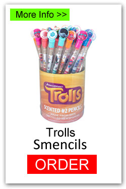 Trolls Smencils for Fundraising