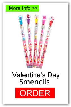 Order Valentines Day Smencils for Fundraising