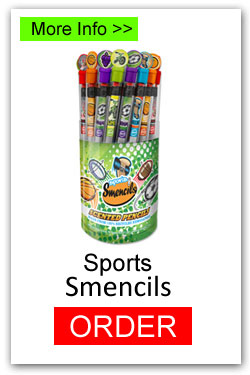 Order Sports Smencils for Fundraising
