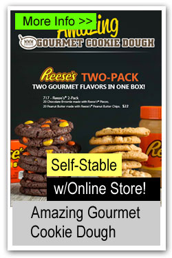 Amazing Gourmet Cookie Dough Brochure