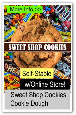 Sweet Shop Cookie Dough Brochure