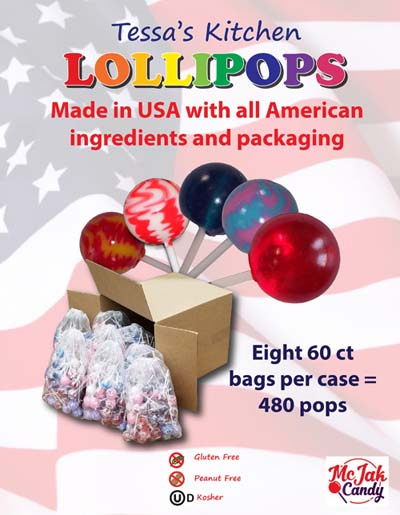 Tessas Kitchen Lollipops for Fundraising