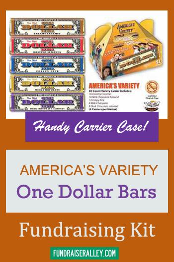 americas variety  dollar bars fundraising kits fundraiser alley