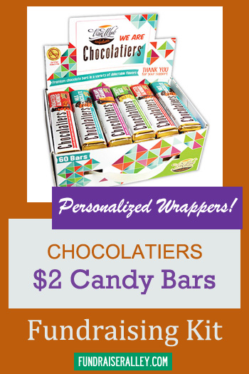 Personalized Van Wyk Chocolatiers Candy Bar Fundraising Kit