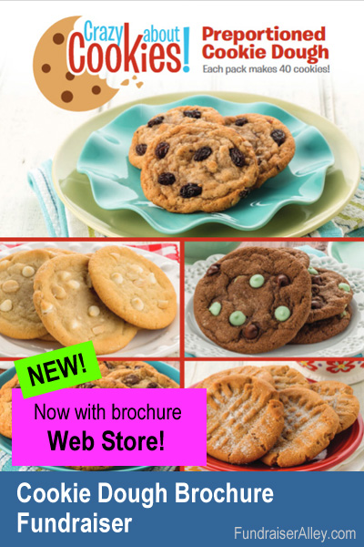 Cookie Dough Fundraiser with Web Store