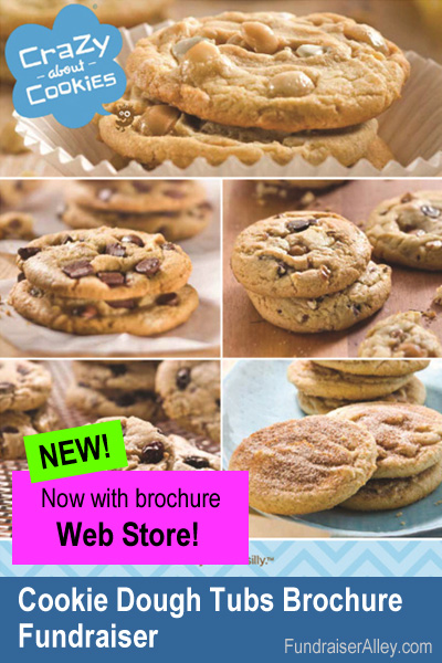 Cookie Dough Tubs Fundraiser with Web Store