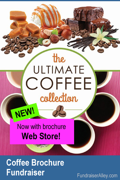 Gourmet Coffeee Fundraiser with Web Store