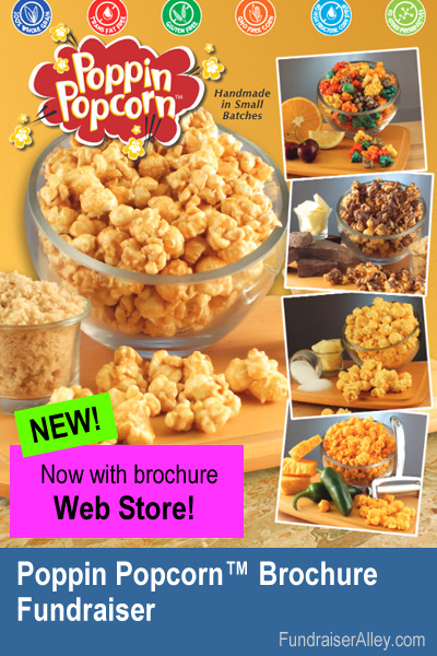 Popcorn Fundraiser with Web Store