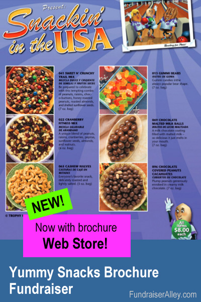 Snack Fundraiser with Web Store