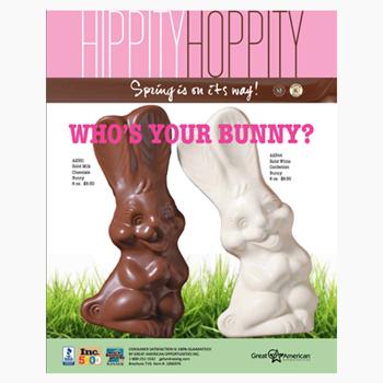 Yummy Bunnies Fundraising Brochures