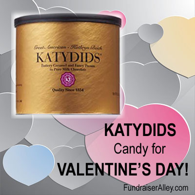 Katydids Candy for Valentine's Day!