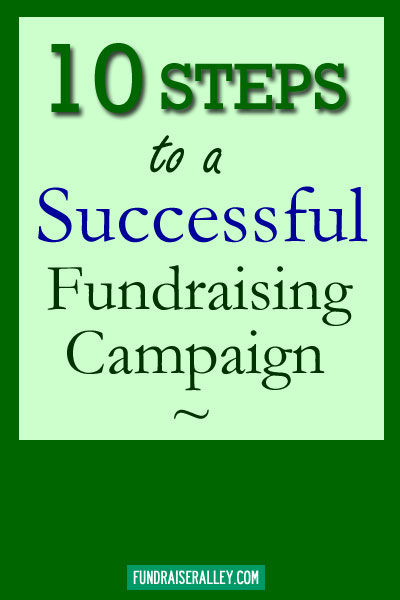 10 Steps to a Successful Fundraising Campaign
