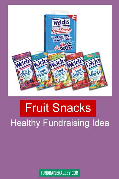 Fruit Snacks - Healthy Fundraising Idea