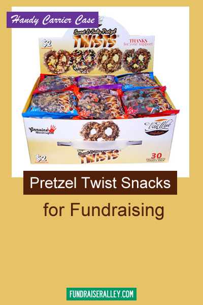 Pretzel Twist Snacks for Fundraising