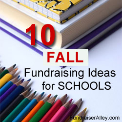 10 Fall Fundraising Ideas for Schools