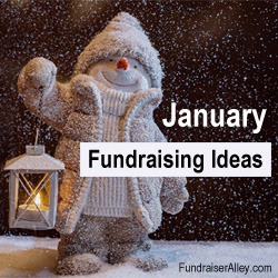 January Fundraising Ideas