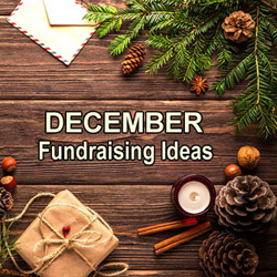 December Fundraising Ideas