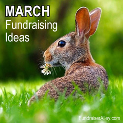March Fundraising Ideas