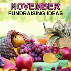 November Fundraising Ideas