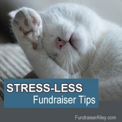 Stress-Less Fundraising Tips