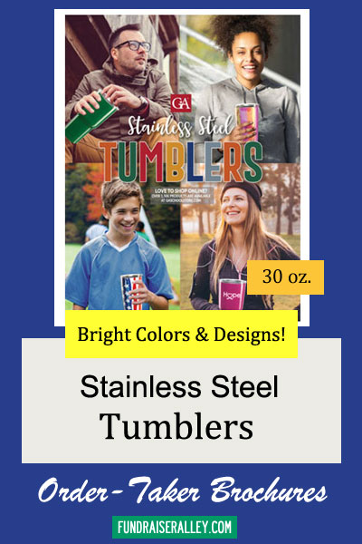30oz Stainless Steel Tumblers Order-Taker Fundraiser