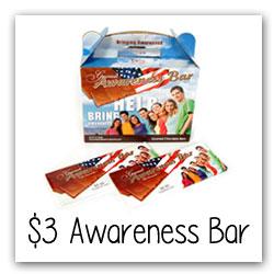 Awareness Bar Fundraising Kit