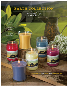 Earth Candles Brochures