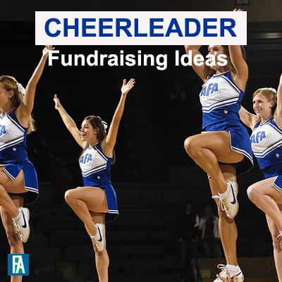 Cheerleader Fundraising Ideas