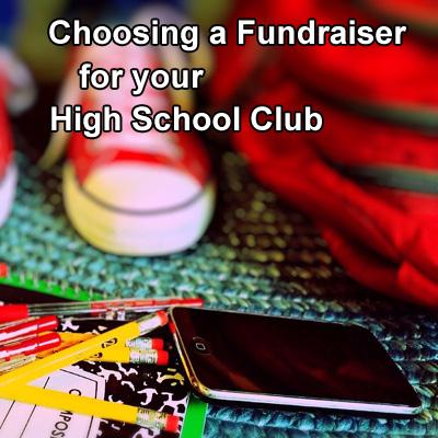 Choosing a Fundraiser for Your High School Club