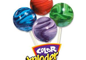 Color Xploder Lollipops