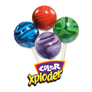 Color Xploder Lollipops for Fundraising