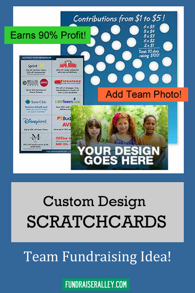 Custom Scratchcards Fundraiser - High Profit