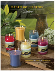 Earth Candles Fundraiser Brochure
