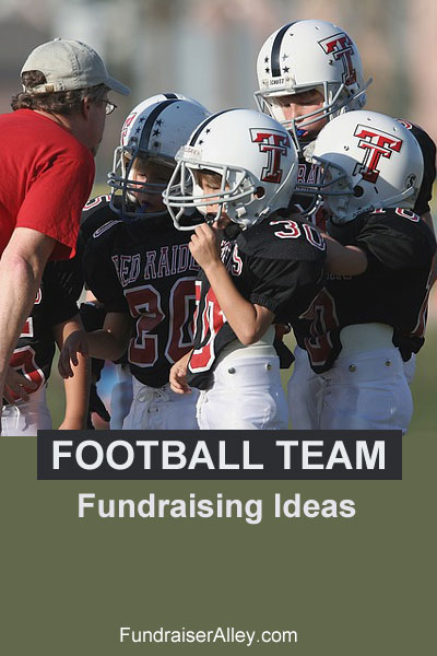 Fundraising Ideas for School Football Teams