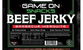 Game On Jerky Fundraiser